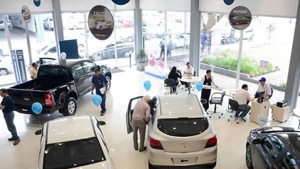 El patentamiento de autos cero kilómetro cayó 10,9% en 2018