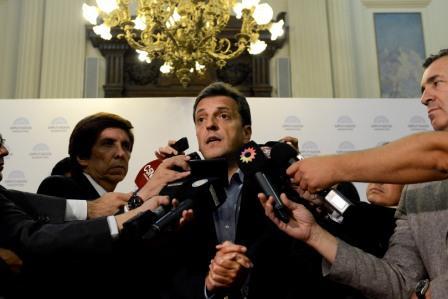 Sergio Massa asegura que se obtendrá el quórum necesario para aprobar la ley de emergencia económica