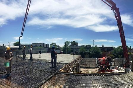 Termina la tercera etapa de obra del Hospital Municipal de San Fernando