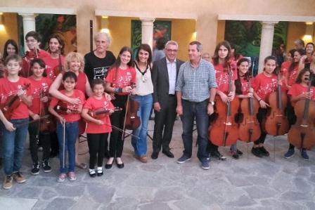 La Orquesta Infanto Juvenil de Benavídez brilló en su cierre de año