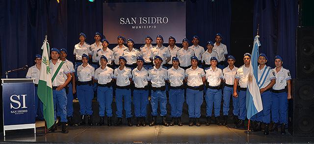 Egresó en San Isidro la quinta camada de la Policía Local provincial