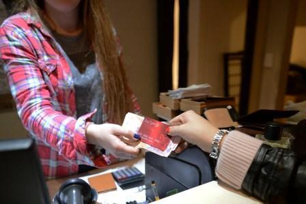 Descuentos con la tarjeta
