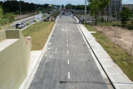 Tigre inauguró la ampliación integral del tercer carril del camino Banacalari-Benavídez