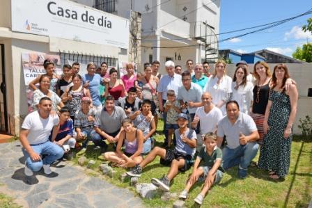 Andreotti compartió un almuerzo de fin de año con los chicos de Casa de Día