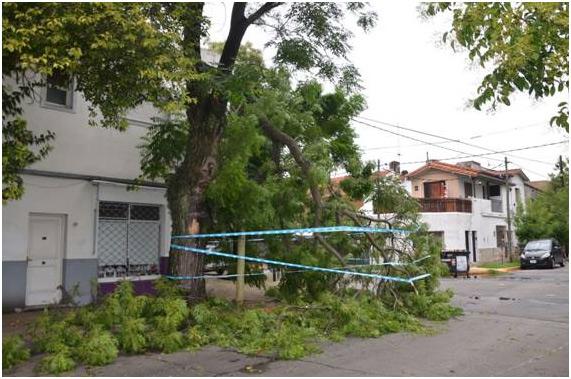 Se normaliza la situación en San Isidro tras el fuerte temporal.