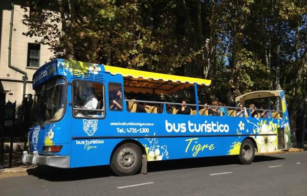 Más de 70.000 turistas recorren Tigre por año con el Bus Turístico