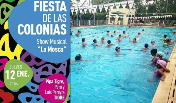 Tigre vivirá la Fiesta de las Colonias.