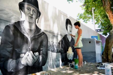 Homenaje a ex Combatientes en la Plaza de las Américas de Villa Martelli