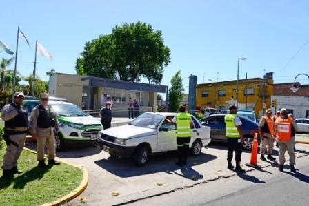 San Fernando continúa realizando controles de tránsito