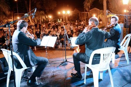 """""""Clásicos de verano"""", conciertos musicales a cielo abierto en Tigre"""