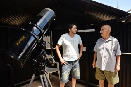 Los Talleres Culturales de San Fernando preparan un nuevo observatorio astronómico
