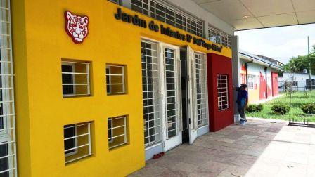 Continúan los trabajos de mantenimiento en los edificios escolares de Tigre