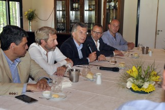 Macri, con intendentes bonaerenses de PRO: