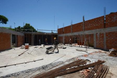 Sigue adelante la construcción del nuevo Forum Cultural de Benavídez