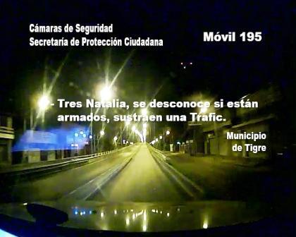 Prefectura recuperó una camioneta robada luego de un enfrentamiento armado en Tigre