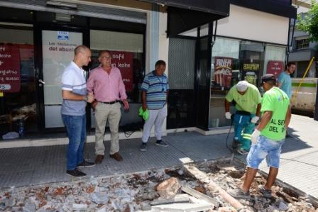 San Fernando extiende la renovación del centro comercial Constitución