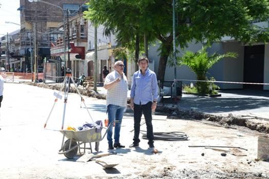 Posse destacó el trabajo conjunto de San Isidro y Vicente López en la calle Paraná