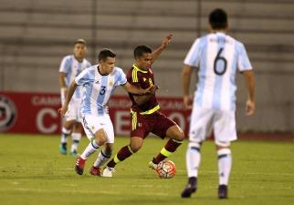 Argentina empató con Venezuela y clasificó segunda al hexagonal final del Sudamericano Sub 20
