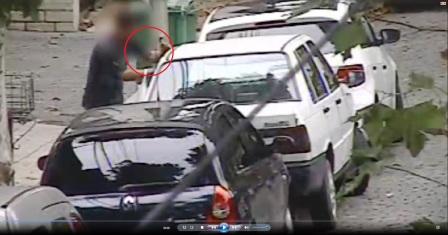 Gracias a las cámaras de San Fernando, un hombre fue detenido por robar el estéreo de un auto