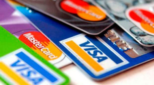 Fuerte caída del uso de las tarjetas de crédito en febrero