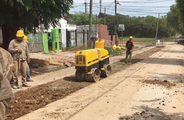 Tigre mejora la red pluvial en Ricardo Rojas