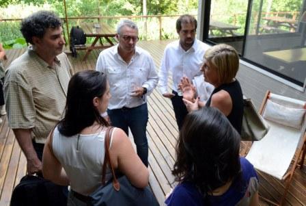 Representantes del Banco Interamericano de Desarrollo y el Comité de Cuenca del Río Reconquista recorrieron el Delta junto al intendente de Tigre.