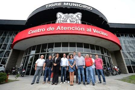 Representantes de los municipios cordobeses visitaron el Centro de Operaciones Tigre (COT)