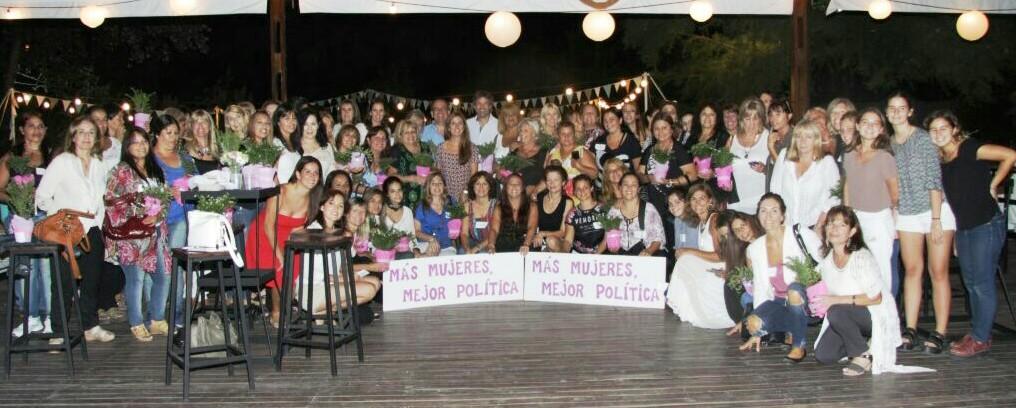Mujeres Pro conmemoró el Día de la Mujer en Benavidez