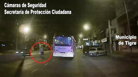 Motoquero armado fue perseguido y detenido en Tigre