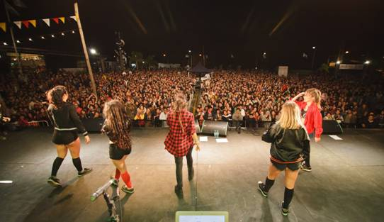 20 mil personas participaron en  la tercera edición del Parador Konex en San Isidro