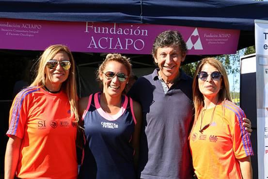 En San Isidro se realizó un torneo de fútbol femenino a beneficio de ACIAPO