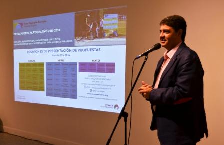 Vicente López puso en marcha los foros Vecinales Barriales 2017