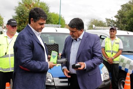 Jorge Macri presentó las nuevas camionetas para los agentes de tránsito
