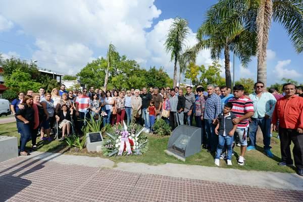El Municipio homenajeó a un sanfernandino desaparecido durante la última dictadura militar.