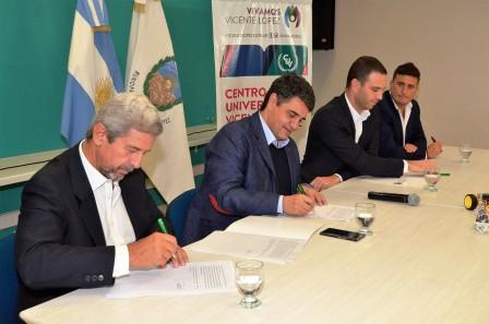 El intendente de Vicente López, Jorge Macri, firmó un convenio con la asociación civil de Emprendedores Argentino (Emprear), para implementar un Centro de Innovación que funcionará dentro del Centro Universitario local.