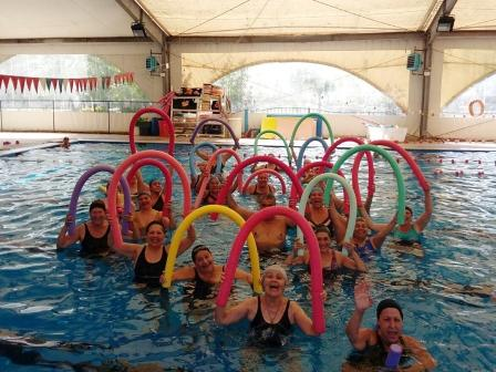 Natación, una actividad cada vez más elegida por los vecinos de Tigre