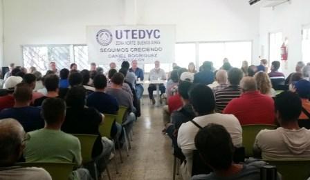 Reunión informativa de Delegados en UTEDyC Zona Norte