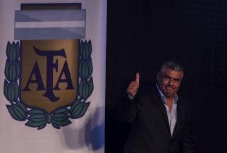 """""""Chiqui"""" Tapia es el nuevo presidente de la AFA, tras un año y medio de intervención de la FIFA"""