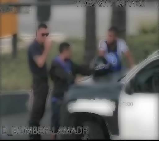 Por las cámaras de seguridad de San Isidro detuvieron a dos policías bonaerenses por corrupción