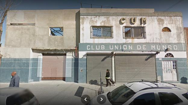 El violento hecho ocurrió en las últimas horas en el Club Unión de Munro, ubicado en General Belgrano 2650, de esa localidad del partido de Vicente López, al norte del Gran Buenos Aires.