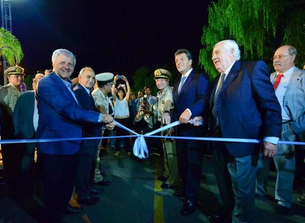Andreotti inauguró el 21° Salón Náutico Argentino en San Fernando.