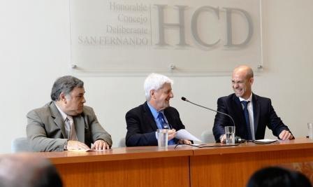 Andreotti inauguró las sesiones ordinarias 2017 del HCD de San Fernando
