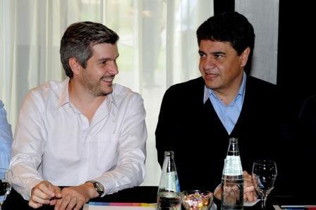 Jorge Macri y Marcos Peña