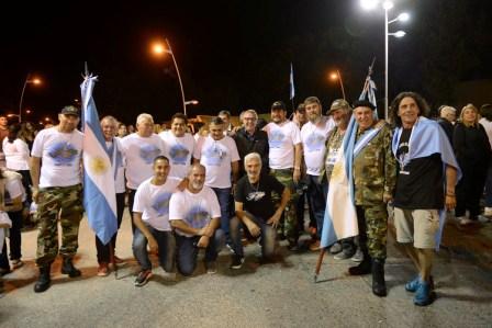 Tigre conmemora el 36° aniversario de Malvinas