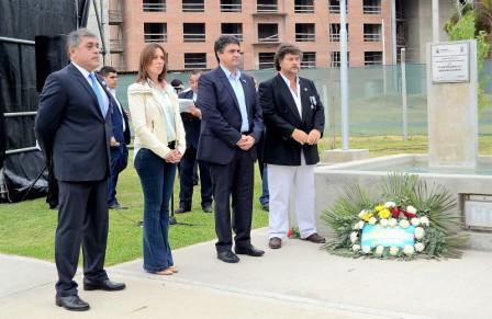 Jorge Macri y Maria Eugenia Vidal homenajearon a veteranos y caídos en Malvinas