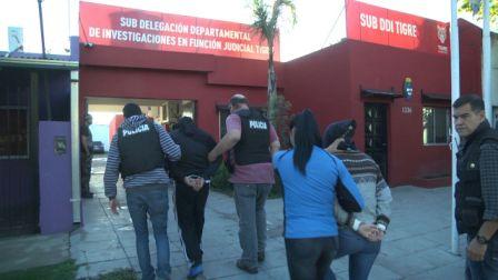 Las cámaras de seguridad de Tigre permitieron detener a los miembros de la banda del FAL