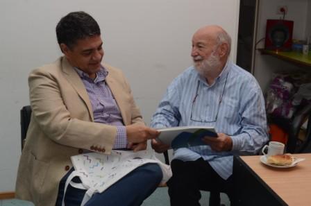 Jorge Macri visitó el Instituto de Rehabilitación Dr. Anselmo Marini