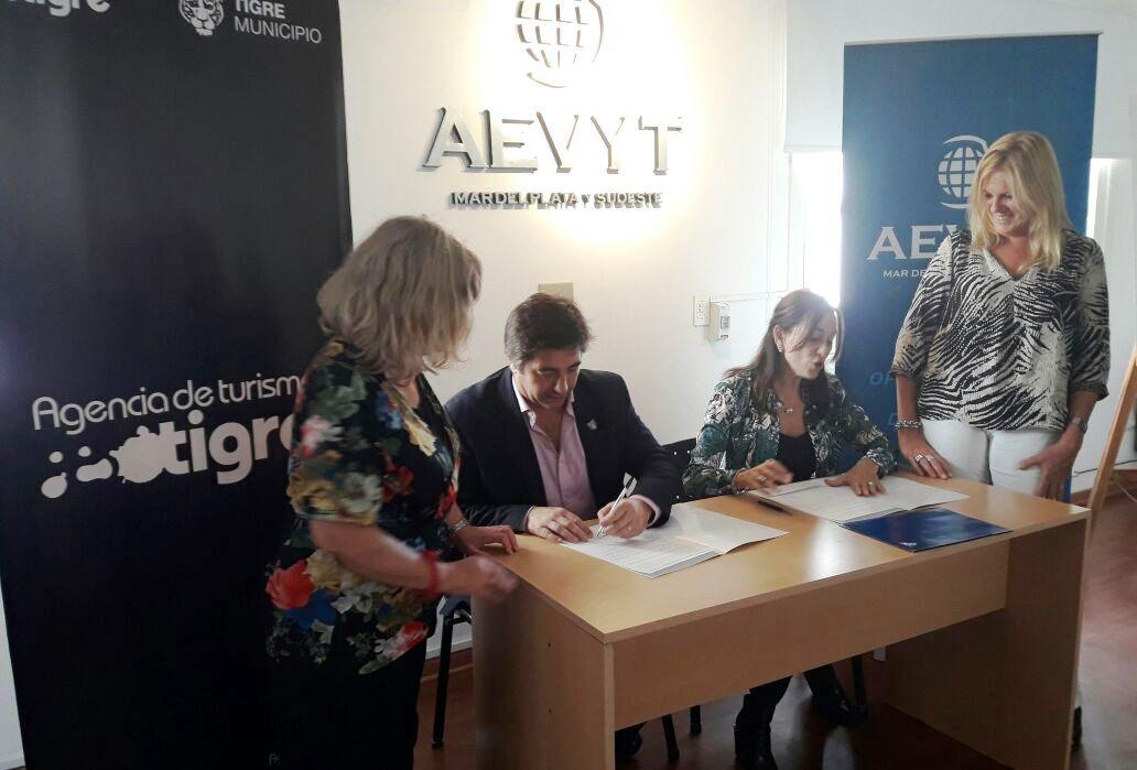 Tigre firmó en Mar del Plata un acuerdo de cooperación turística