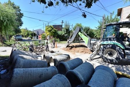 San Fernando mejora el sistema hidráulico del barrio San Lorenzo