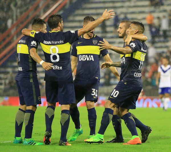 Boca fue lapidario y contundente y superó a Vélez para estar más aferrado a la punta